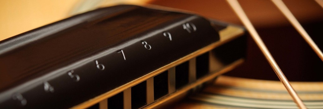 harmonica et guitare